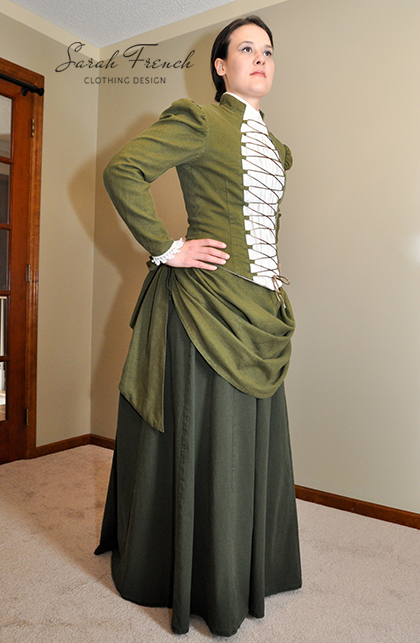 Victorian Walking Suit 1800s Sarah French Clothing Design