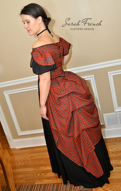 Plaid Victorian Ball Gown | Historical 1800s | Sarah French ...