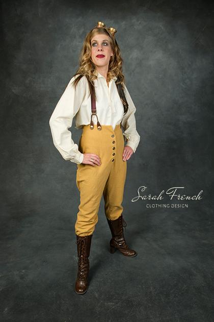 Steampunk Explorer In Breeches Steampunk Sarah French